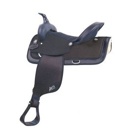 Abetta Abetta® Cordura Hi-Back Saddle, Black, Reg Bars