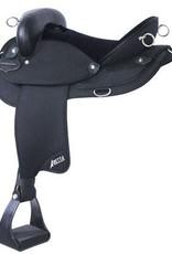 "Abetta Abetta Endurance Saddle, Black w/Aire-Grip - 15"" FQHB"