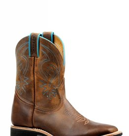 Boulet Western Boots INC. Women's Boulet Short Brown Western Boot