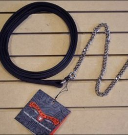 Circle Y Circle Y Show Halter Lead, Dark Oil Antique - 1""