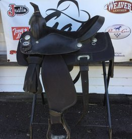 "Tough-1 Used King Series Saddle - 15"" FHQB"