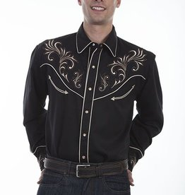 Scully Sportswear, INC Men's Scully Embroidered Western Shirt