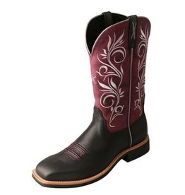 Twisted X, Inc Women's Twisted X Top Hand Boots Softy Black / Maroon