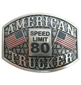 """AndWest Antique Silver """"American Trucker"""""""