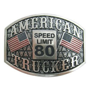 "Antique Silver ""American Trucker"""