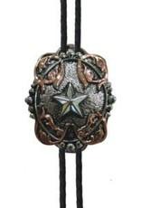 AndWest Star Bolo w/ Copper Barbwire