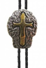 Two-Tone Cross Shield Bolo