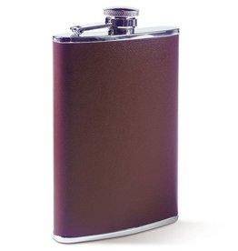 GT Reid Huntsman's Stainless Flask Brown - 8 oz.
