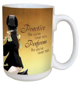 GT Reid Coffee Mug - Practice Perform - 15 oz.