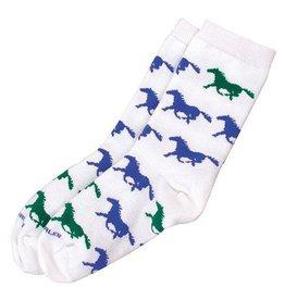 GT Reid Children's Socks Pastel Horse