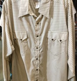 Rockmount Ranch Wear Men's Rockmount Western Pima Cotton Plaid Shirt - $86.95 @ 50% OFF! XXL