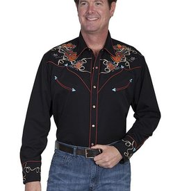 Scully Sportswear, INC Men's Scully Boots, Hats & Guitars Snap Front Shirt