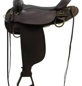 Circle Y of Yoakum Circle Y High Horse - Eldorado Cordura Trail Saddle, FQHB