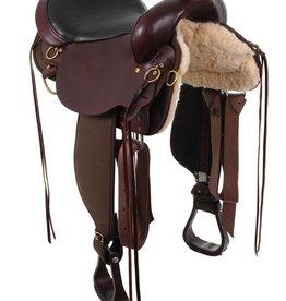 Circle Y Circle Y High Horse - Eldorado Cordura Trail Saddle, FQHB