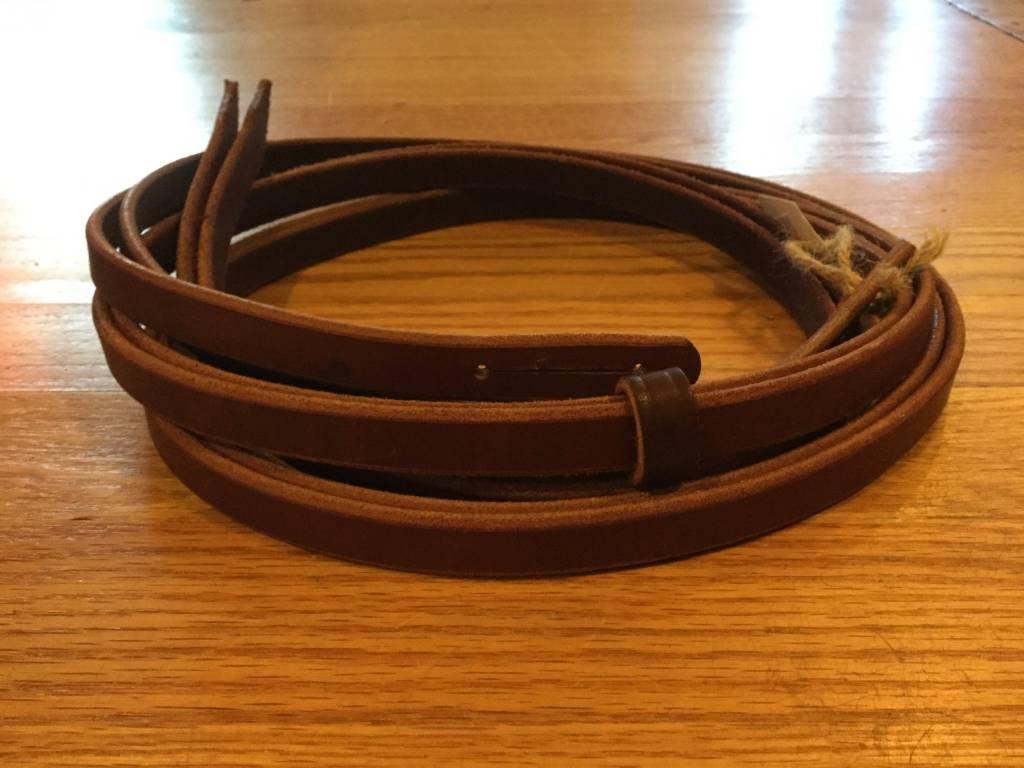 Circle L Circle L Latigo Split Reins - 7.5'