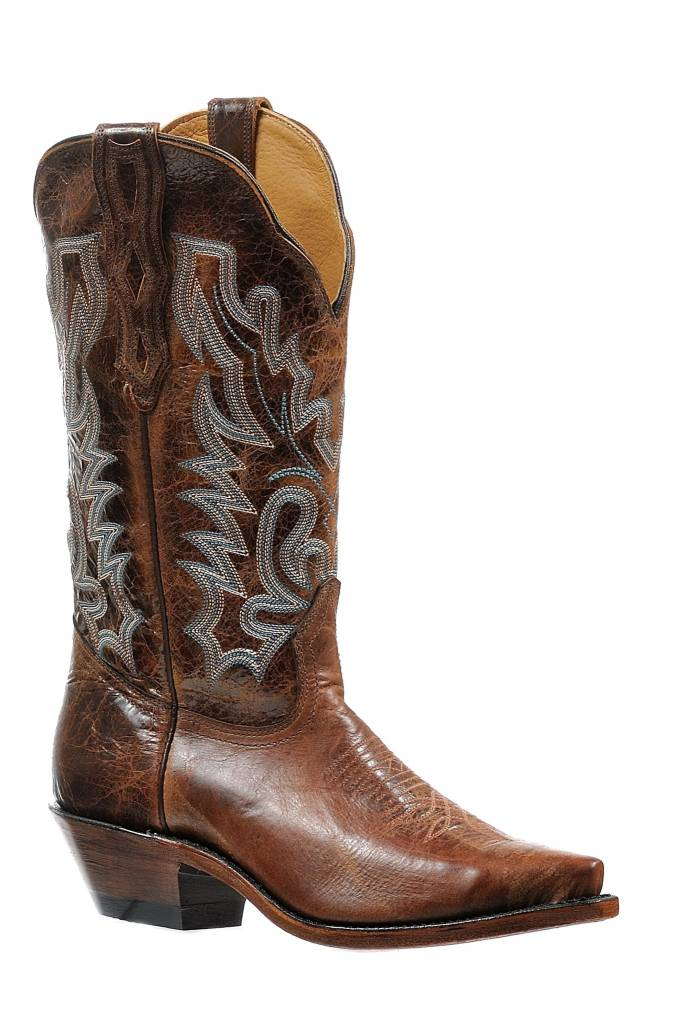 Boulet Western Boots INC. Women's Boulet Brown Western Boot
