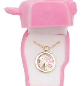 WEX Necklace - Pink Horse Head