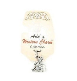 M & F Western Products Charm - Barrel Racer