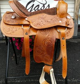 "Lamprey 17"" Pleasure Saddle"