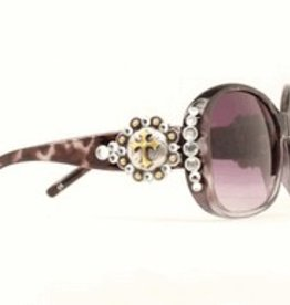 M & F Western Products Sunglasses - Blk Berry Cross