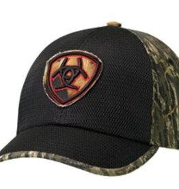 M & F Western Products Ariat Logo Patch Ball Cap