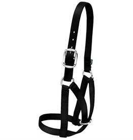 Weaver Leather Company Cow Barn Halter, Black
