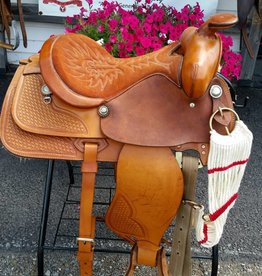 Western Simco Pleasure Saddle 15.5""