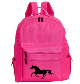 AWST International Backpack - Pink w/ Galloping Horse