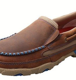 Twisted X, Inc Women's Twisted X Slip-On Driving Moccasins - Blue