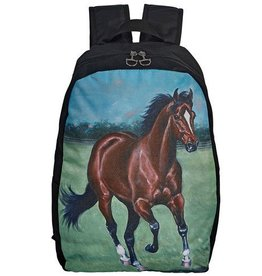 AWST International Backpack - Lila Galloping Bay
