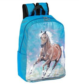 AWST International Backpack - Lila Golden Palomino