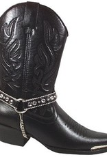 Smoky Mt Boots Women's Smoky Mt Charlotte Boot w/Ankle Chain - Black 7.5M - Reg Price $89.95 now 25% OFF!
