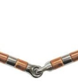 "5"" Eggbutt Snaffle w/ Copper Roller Mouth (Reg $22.95 NOW 40% OFF)"