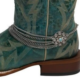 Cowgirl Confetti Boot Chain - Through Thick & Thin, Conchos