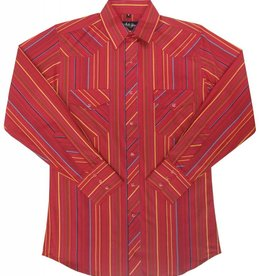 White Horse Apparel Men's Long Sleeve Strip Shirt Red/Yellow M Reg $32.95 @ 25% Off $24.95