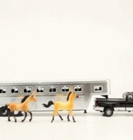 M & F Truck and Trailer Toy Set