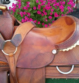 "Billy Cook Saddlery 16"" Billy Cook Ranch Saddle w/ Breast Collar - FQHB"