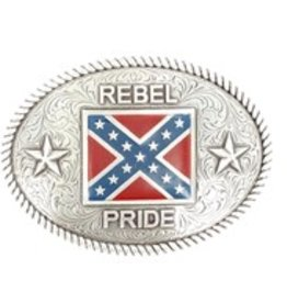 Nocona Rebel Pride Belt Buckle
