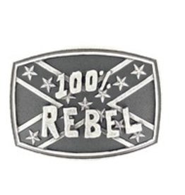 Nocona 100% Rebel Belt Buckle