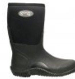 """AGS Footwear Group Superior 16"""" Black Neoprene Mud Boot"""