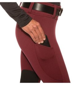 Kerrits Equestrian Women's Kerrits Sit Tight Windpro Kneepatch Tights, Black