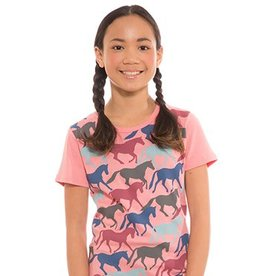 Kerrits Children's Kerrits Round Up Horse Tee, Melon