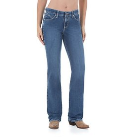 Wrangler Women's Wrangler Ultimate Riding Jeans Cool Vantage - Q-Baby - MS Wash