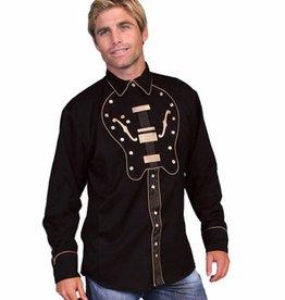Scully Sportswear, INC Men's Scully Guitar Bib Shirt