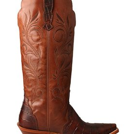 Twisted X, Inc Women's Twisted X Rancher Boot – Croco Cognac/Profirio Cognac
