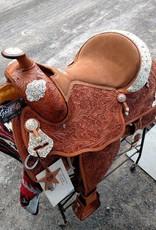 """Alamo Alamo Show Saddle Light Oil - 16""""/Semi - Was $2095 now $1595!!"""
