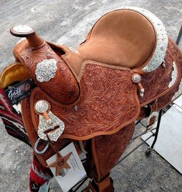 "Alamo Saddlery Alamo Show Saddle Light Oil - 16""/Semi - Was $2095 now $1595!!"