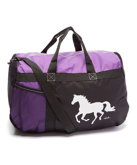AWST Duffle Bag Purple - Galloping Horse