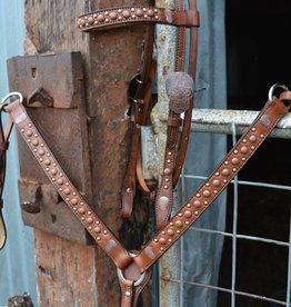 Alamo Breast Collar w/ Copper Spots