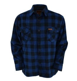 Outback Trading Company LTD Men's Outback Fleece Big Shirt - Blue (Reg Price $64.95 NOW $20 OFF!)